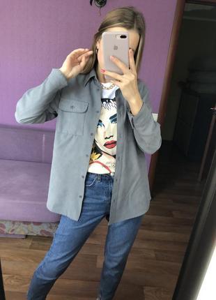 Рубашка под замш