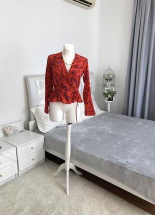 Шелковая блуза kenzo из натурального шёлка 💯 % оригинал