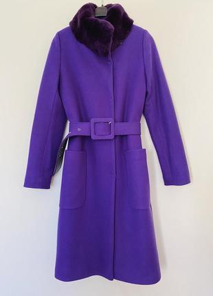 Кашемировое пальто супер качество