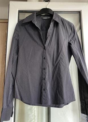 Стильная рубашка в полоску mexx