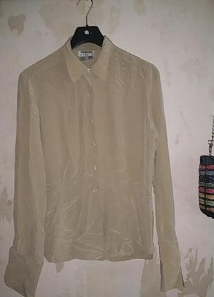 Блузка рубашка 100% шелк винтаж