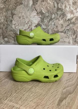 Crocs 26 р крокс босоножки шлепки шльопанці босоніжки