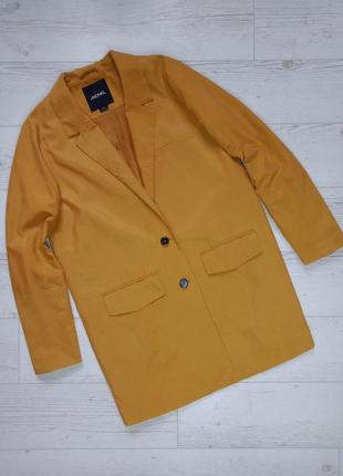 Удлиненный пиджак блейзер оверсайз р.10-12