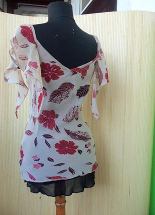 Двуслойная легкая блуза gap 34-36