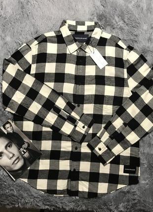 Рубашка мужская от сalvin кlein, оригинал