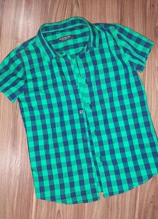 Рубашка тенниска reserved для мальчика 128 р.