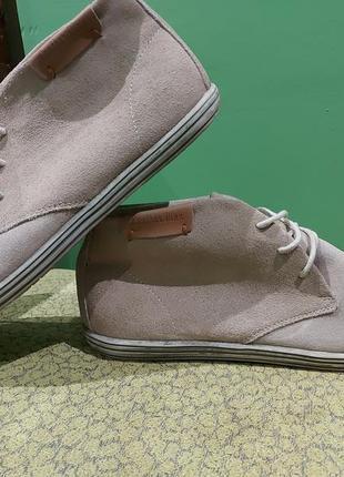 Замшеві туфлі дезерти