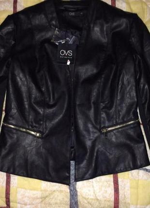 Новая курточка_пиджак эко кожа
