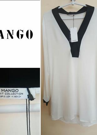 Длинная рубашка mango