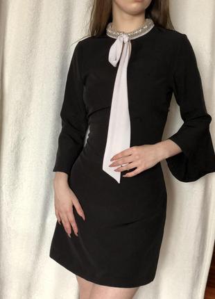 Платье с рукавом zara