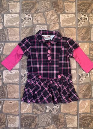 Carter's платье туника рубашка торг