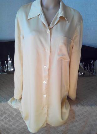 Легкий шелковый халатик от швейцарского бренда calida