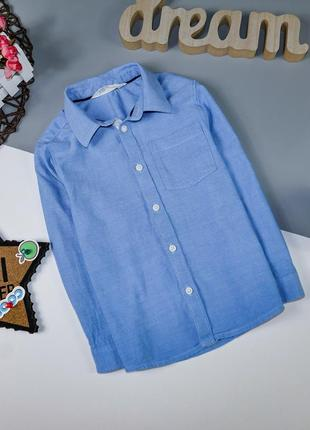 Рубашка на 4-5 лет/110 грн