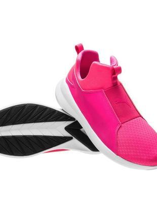 Puma rebel mid женские высокие кроссовки