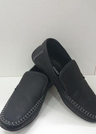 Кожаные туфли 35 р.