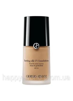 Тональный крем giorgio armani lasting silk uv foundation spf20 4,5 pale beige