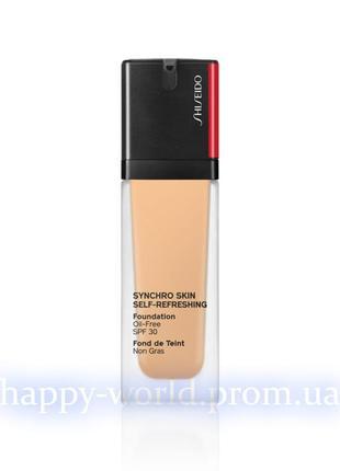 Тональный крем shiseido synchro skin self-refreshing foundation spf 30 310 silk