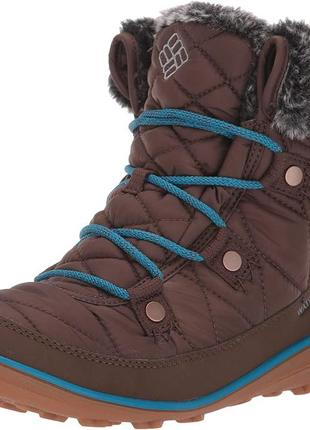 Размер 35.ботинки columbia heavenly shorty camo. -32 с.зимние.оригинал.
