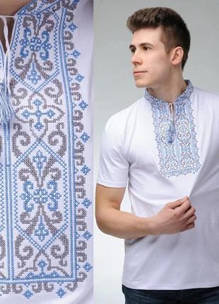 Мужская футболка вышиванка качество- размеры! украина
