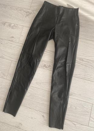 Кожаные штаны штаны из эко кожи