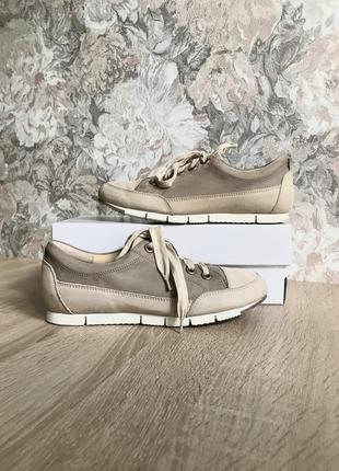 Paul green 37 р кожа кроссовки кросівки туфли.