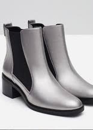 Ботинки , ботильены zara basic collection