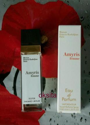 Мини парфюм ,дорожная версия 40 мл maison francis kurkdjian amyris femme