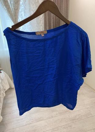 Футболка блуза на одно плече