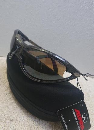Спортивные фирменные очки alpina ceramic mirror. германия.