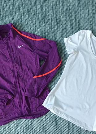 Набір nike футболка спортивка вітровка