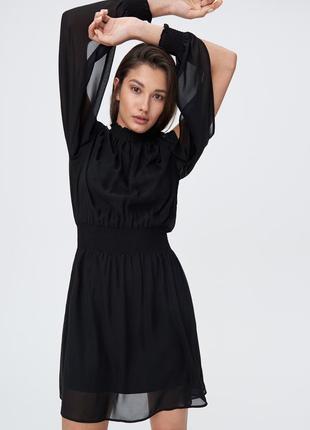 Платье с красивыми рукавами sinsa