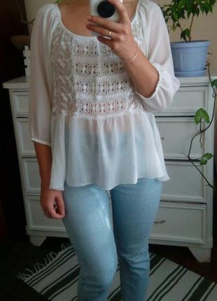 Блуза романтична в стилі бохо