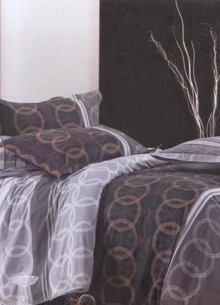Французский комплект постельного белья полуторный, хлопок 100%(сатин)