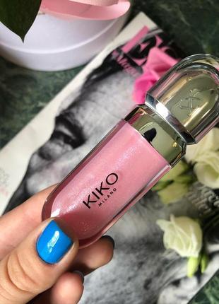 Блеск для губ kiko milano 3d для объема губ