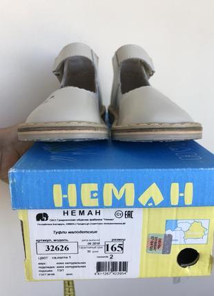 Неман туфельки сандали neman3 фото