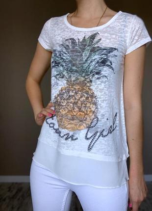 Красивая футболка с ананасом 🍍