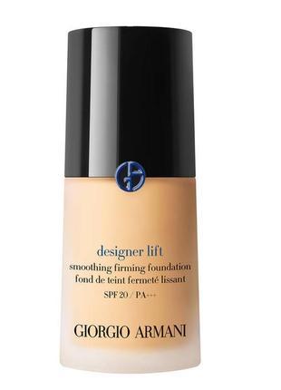 Тональный крем giorgio armani designer lift smoothing firming foundation spf 20 2