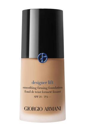 Тональный крем giorgio armani designer lift smoothing firming foundation spf 20 4