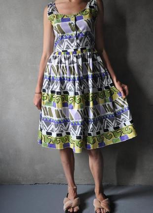 Платье сарафан prada оригинал размер s