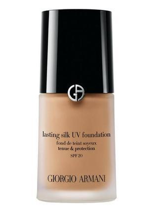 Тональный крем giorgio armani lasting silk uv foundation spf20 5,5 natural beige