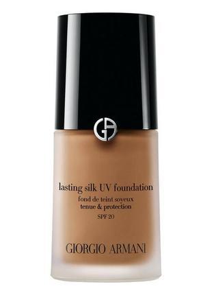 Тональный крем giorgio armani lasting silk uv foundation spf20 7 tan
