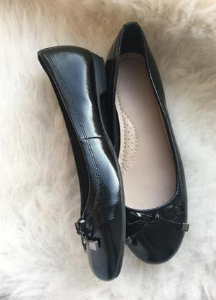 Туфли, балетки на ровном ходу, footglove, 5/38 размер, состояние новых