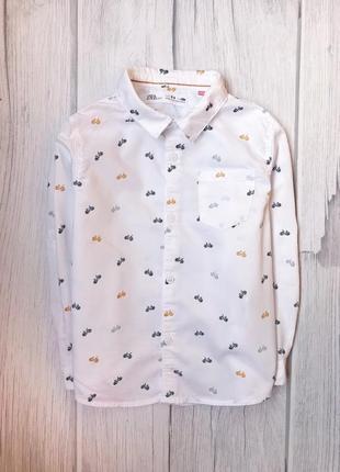 Новая рубашка {стирала} zara 3-4 года на рост 104 .1 фото