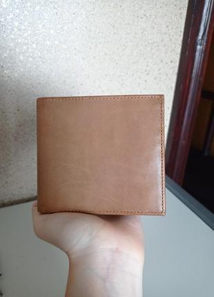 Simsons мужской кошелек портмоне кожаный натуральная кожа