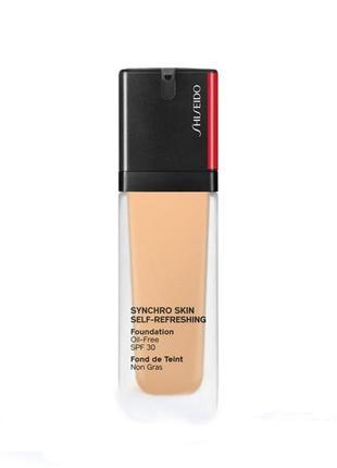 Тональный крем shiseido synchro skin self-refreshing foundation spf 30 340 oak