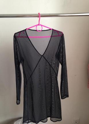 Прозрачная туника платье франция