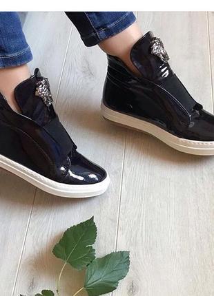 Стильные ботинки деми, удобные ботинки