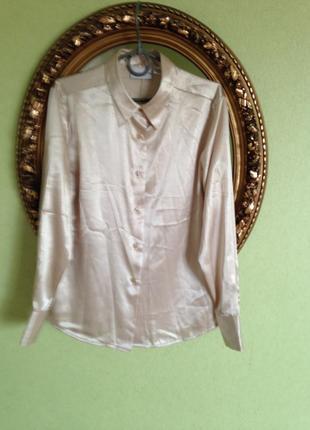 Блуза рубашка с дл рукавом