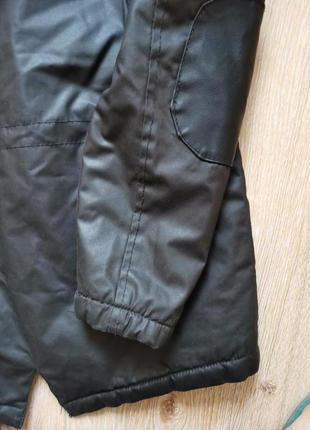 Куртка парка деми3 фото