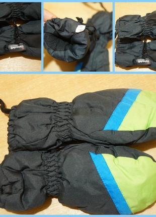 Thinsulate термо вережки - краги примерно 4-6 лет рукавиці
